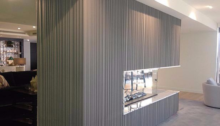 Corrugated 3D Profile Panels with Square Contour