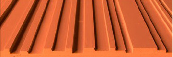 Stonini Corrugated 3D Profile Panels Rounded Contours