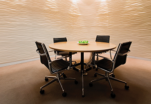 Rhythm Macquarie Bank Wall Panels