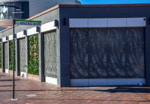 Stonini Calypso wall panels at Fairfield RSL