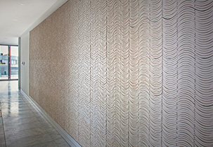 Ebb Foyer Feature Wall