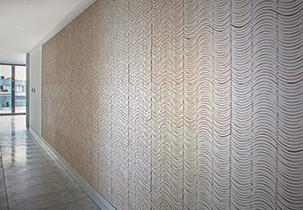 Ebb Foyer Feature Wall