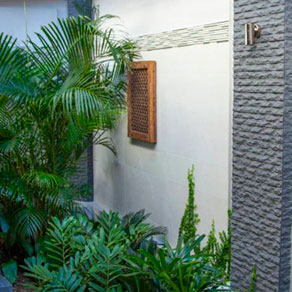 Stonini Calypso 3D Profile courtyard wall Fairfield RSL