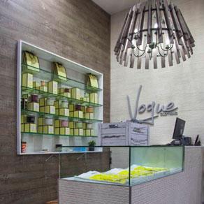 Stonini decorative wall panels vogue clothing store
