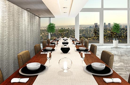 Stoniniebb dining room feature wall stonini for Dining room feature wall